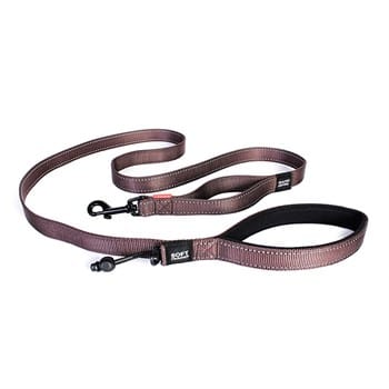 Ezydog Leashes Trainer S Lite Soft Chocolate - 12 Mm / 1,81 Cm