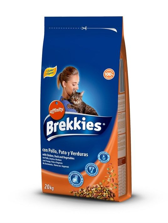 BREKKİES EXCEL CAT MIX CHICKEN 20 KG