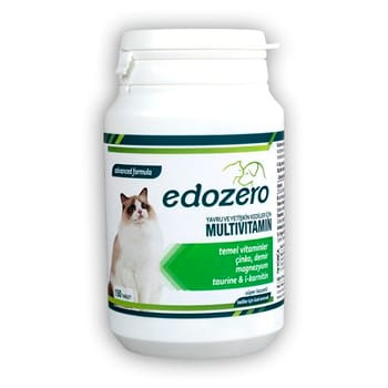 edozero Multivitamin Kedi 150 Tablet 75Gr (6)