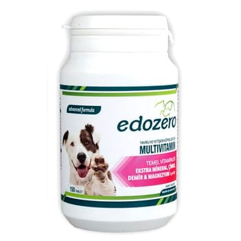 edozero Multivitamin Köpek 150 Tablet 75Gr (6)