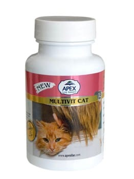 Apex Multivit Cat 75 Tablet
