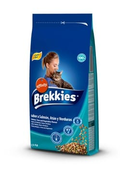 BREKKİES EXCEL CAT MIX FISH 1.5 KG