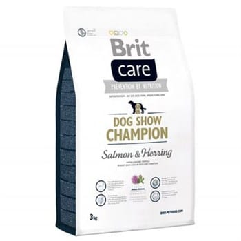 Brit Care Dog Show Champion Somon ve Ringa Yetişkin Köpek Maması - 3 kg