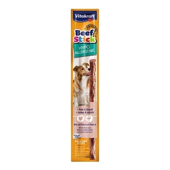 Vıtakraft Beef Stıck Devekuş+Hindi Hypoaller 2G 50