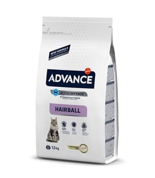 Advance Sterilized Hairball Hindili Kedi Maması - 1,5 kg