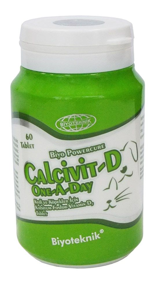 BİYOTEKNİK CALCİVİT-D ONE A DAY TABLET