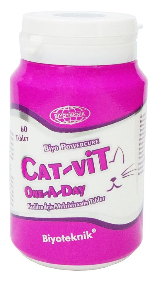 Biyoteknik Cat-Vit One A Day Tablet