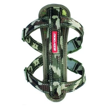 Eazydog Harnes Chest Plate XLarge Camouflage