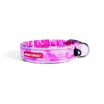 Eazydog Neo Collar Classic S Pink Camo