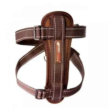 Ezydog Chest Plate Harness Chocolate XX-Large