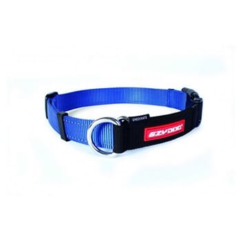 Ezydog Collor Checkmate Medium Blue (Mavi)