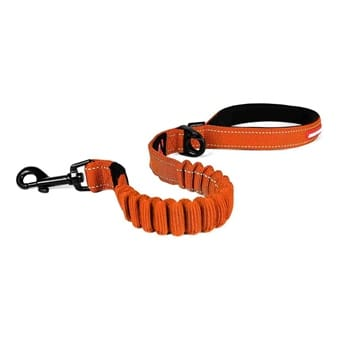 EZYDOG LEASHES Z. SHOCK ORANGE 48'' LITE