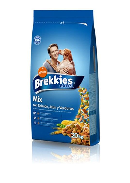 Brekkies Excel Dog Mix Fish - 20 Kg Köpek Maması