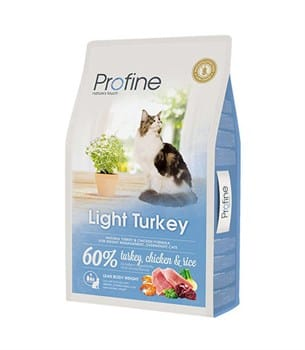 Profine Light Turkey Düşük Kalorili Hindi Etli Kedi Maması - 10 Kg